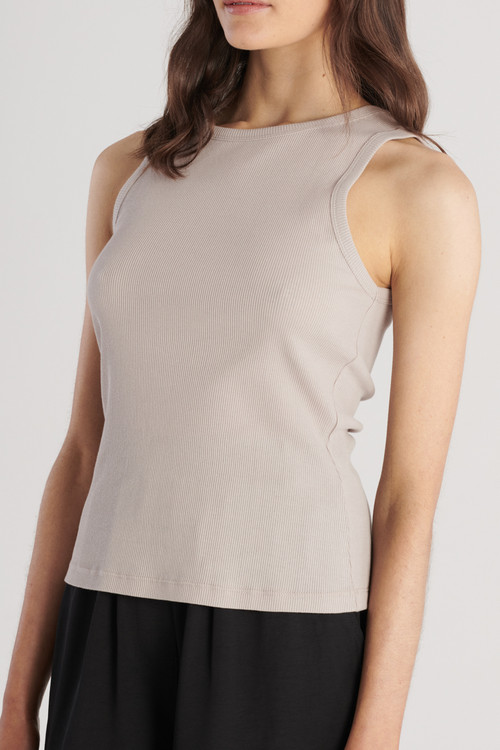 Elka Collective Womens Nola Tank Taupe