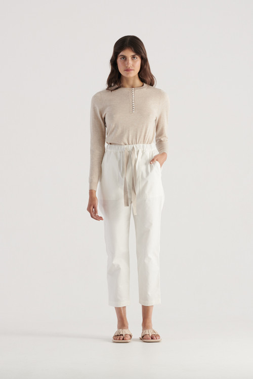 Elka Collective Womens White  River Pant
