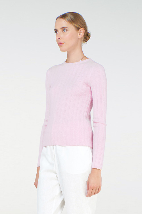 Elka Collective Womens Jean Knit Top Lilac