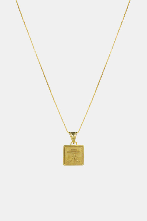 Elka Collective Womens BRIE LEON VALORES LIFE PENDANT Gold
