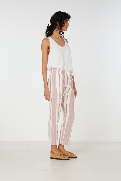 Elka Collective  Adele Pant Brown