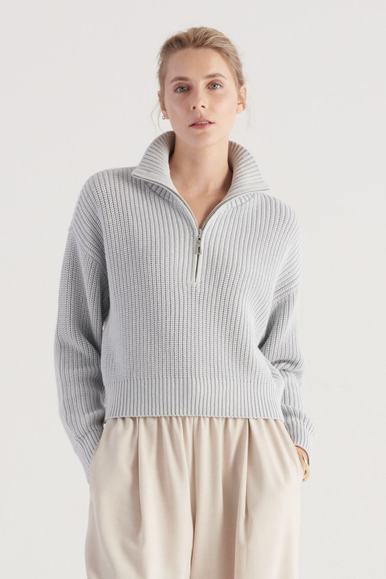 Elka Collective Rise Knit Sky Blue