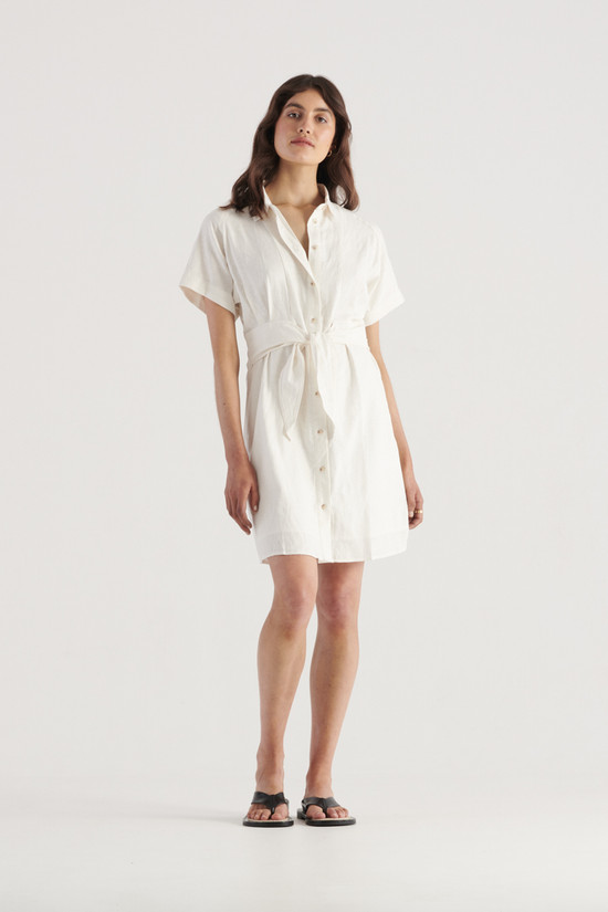Elka Collective Times Dress White