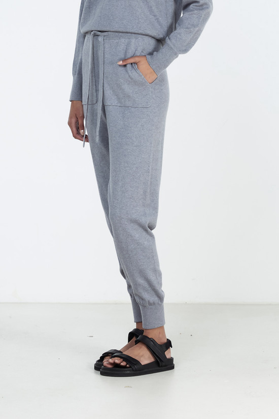 Elka Collective Lounge Trackpant Charcoal Marle