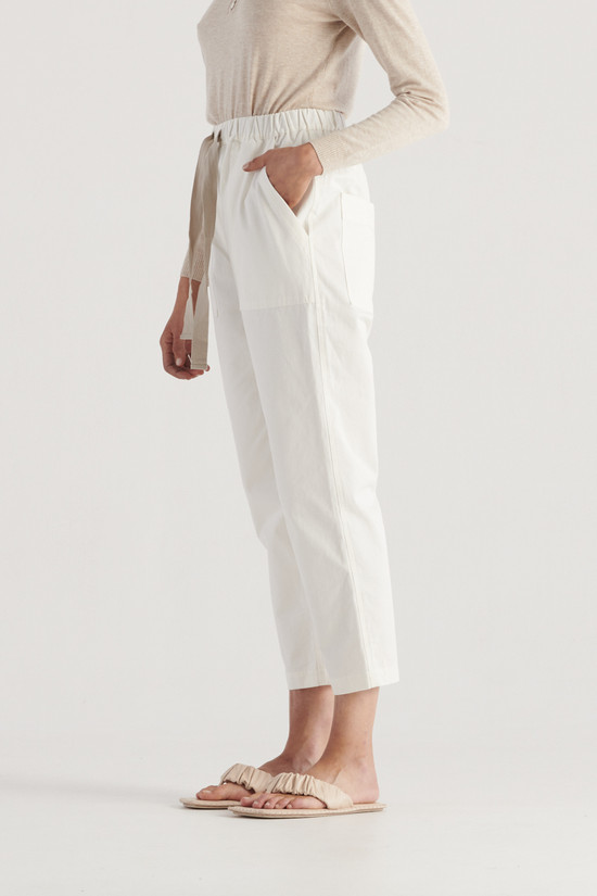 Elka Collective River Pant White