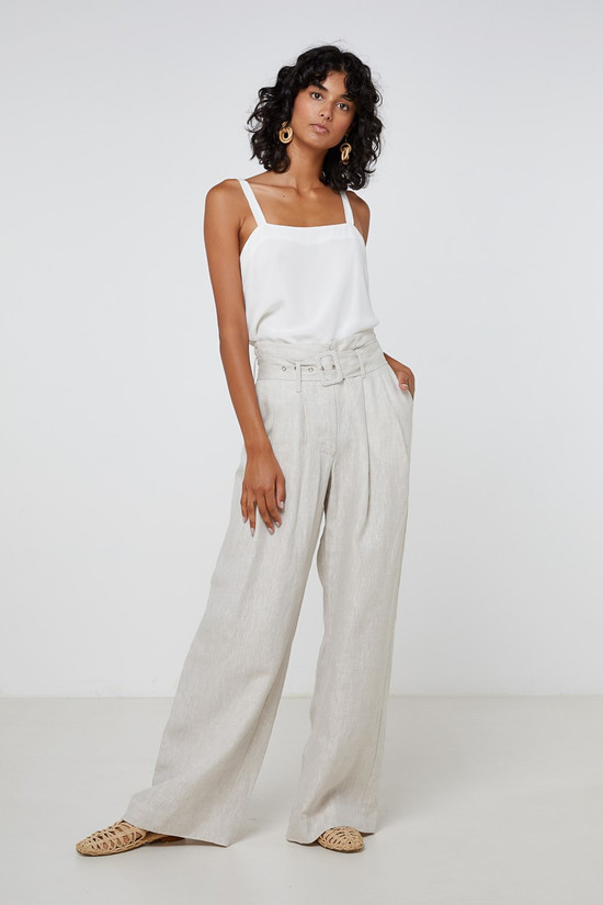 Elka Collective Cannes Pant Natural