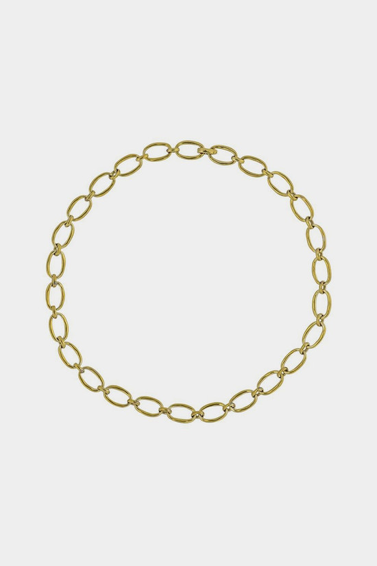 Elka Collective Brie Leon Link Chain Necklace Gold