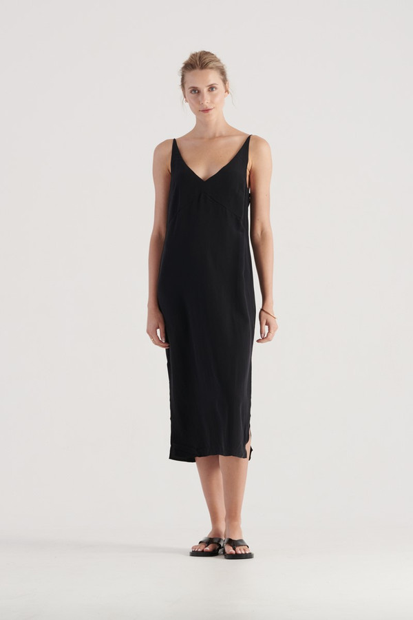 Elka Collective Suki Dress Black