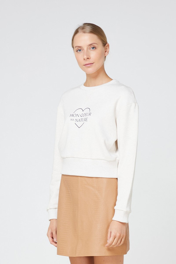 Elka Collective Mon Coeur Sweat Oatmarle