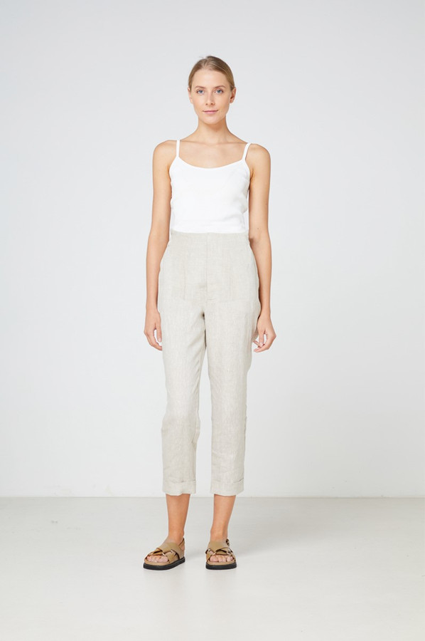 Elka Collective Tropea Pant Natural