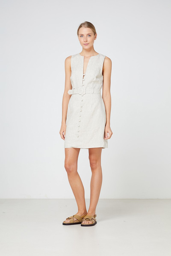 Elka Collective Tropea Dress Natural