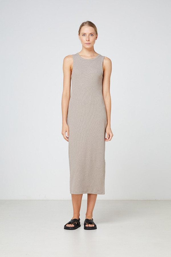 Elka Collective Nola Dress Walnut