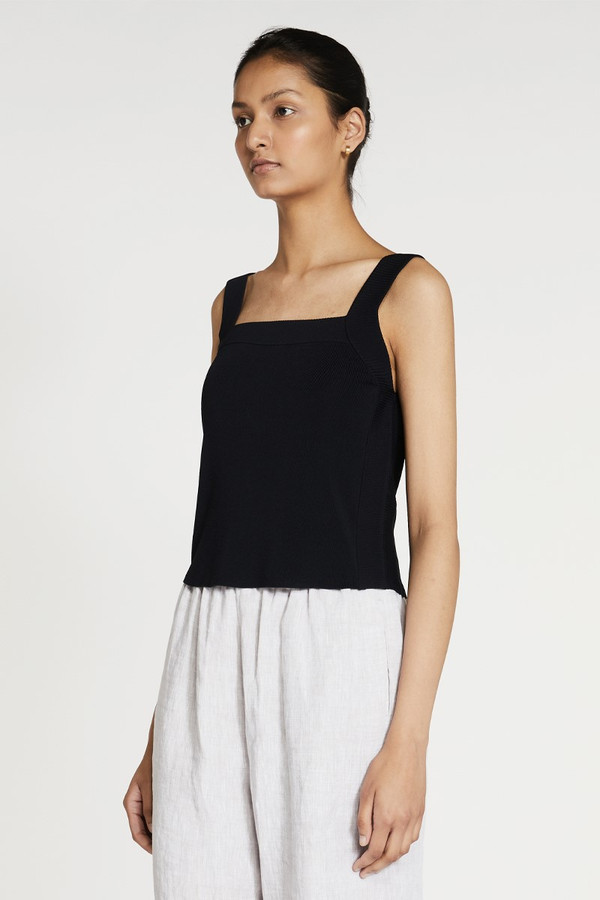 Elka Collective Milos Knit Tank Black