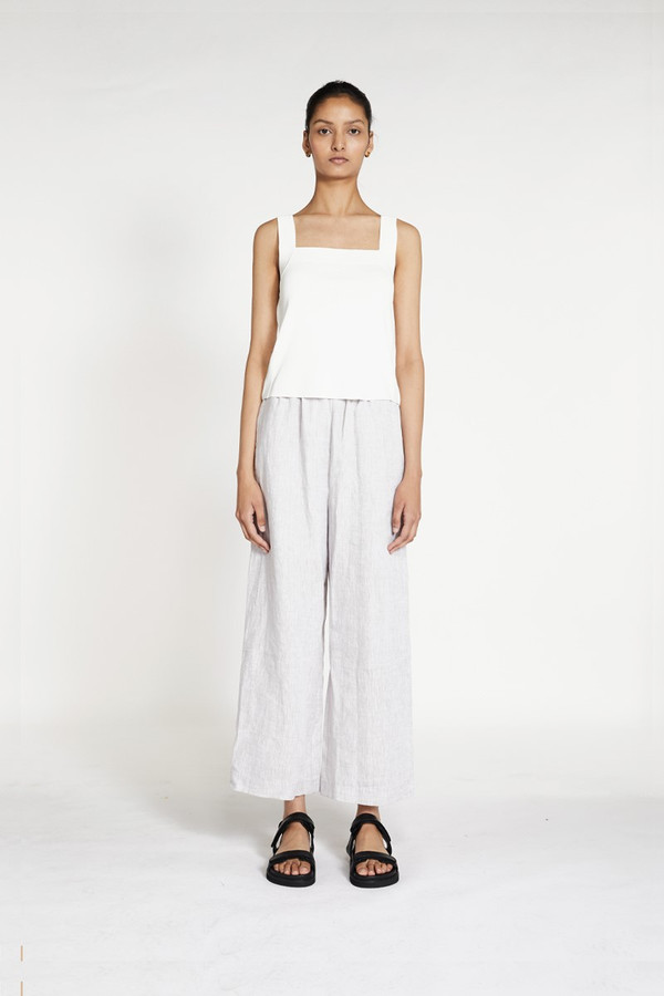 Elka Collective Milos Knit Tank White