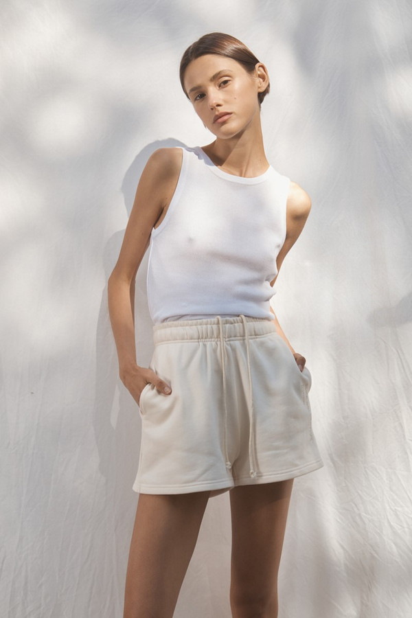 Elka Collective Trademark Short Cream