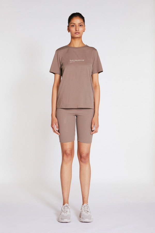 Elka Collective Trademark Tee Taupe