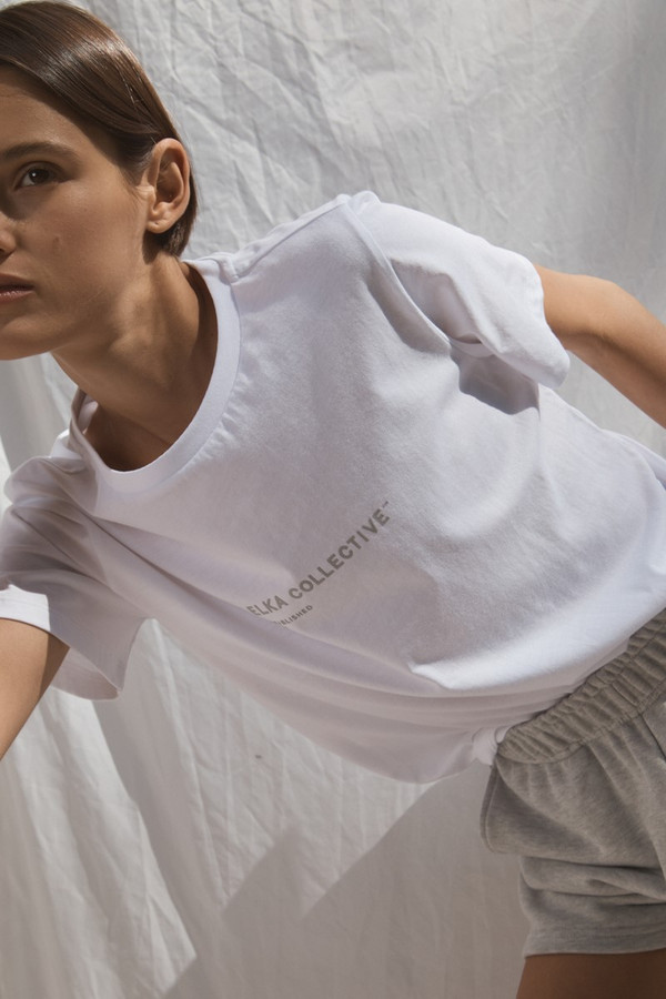Elka Collective Trademark Tee White