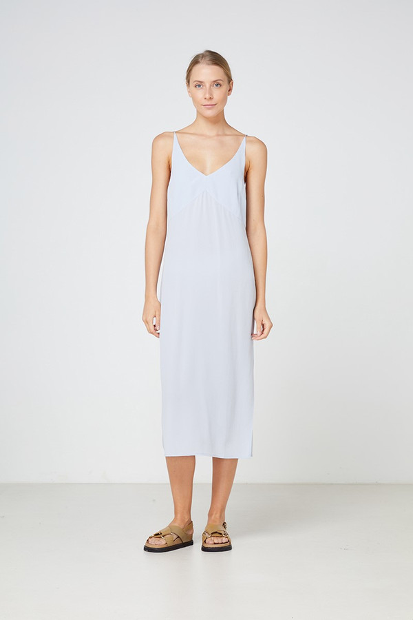 Elka Collective Vittoria Dress Grey Dawn