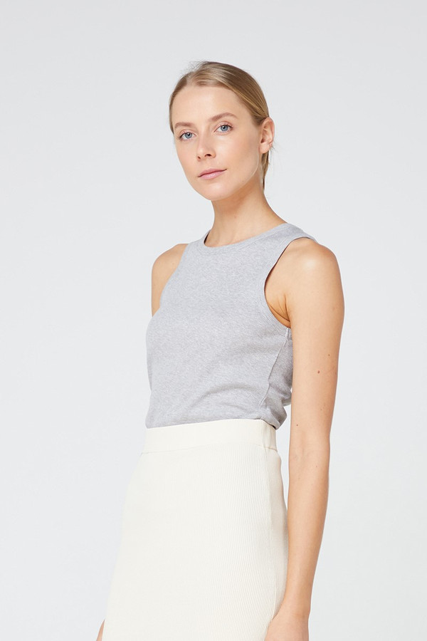 Elka Collective Nola Tank Grey Marle