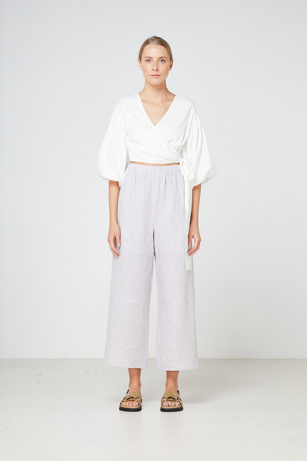 Elka Collective Medina Top White