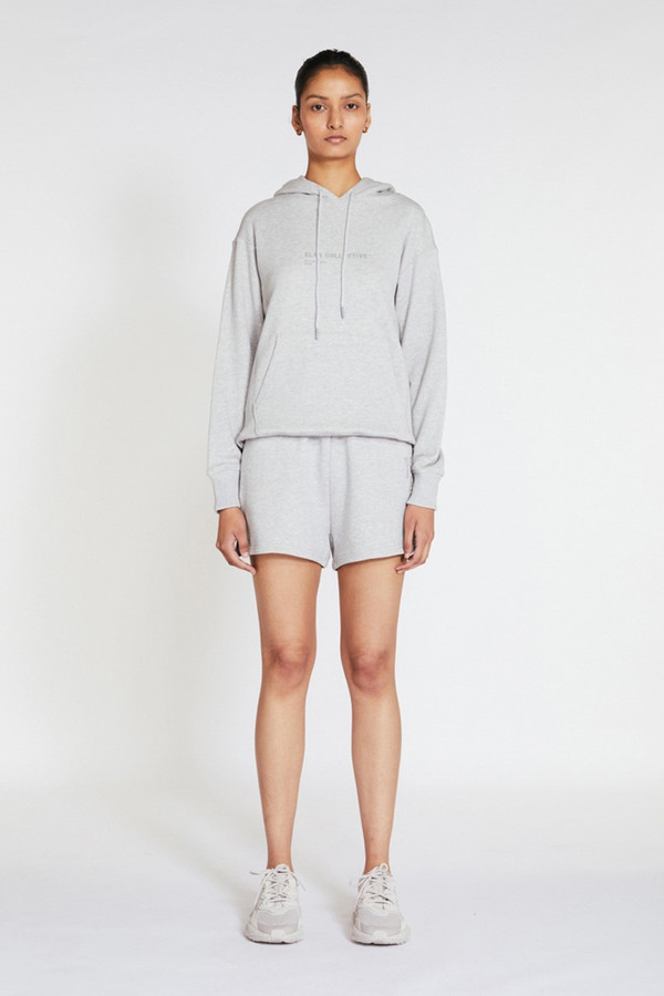 Elka Collective Trademark Hoodie Light Grey Marle