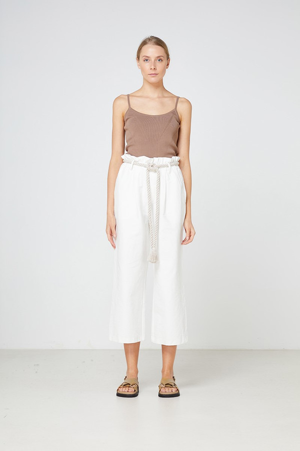 Elka Collective Arden Pant White