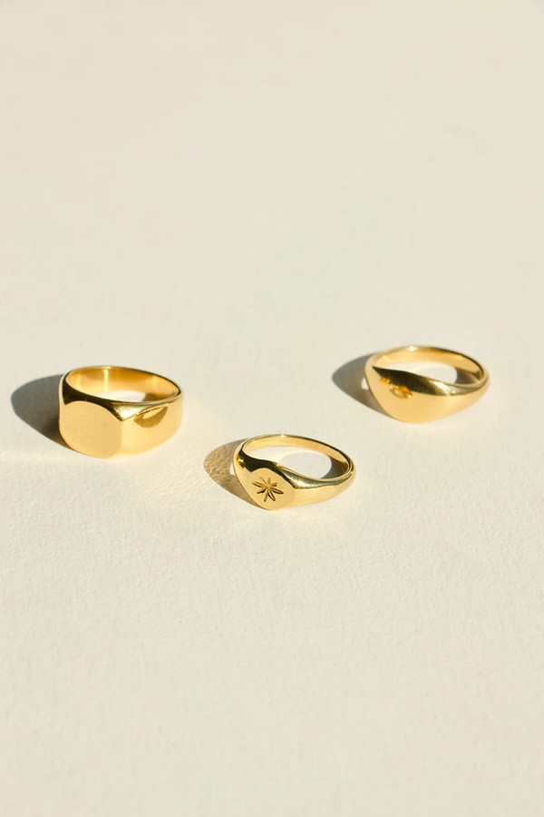 Elka Collective Brie Leon Luna Ring Gold