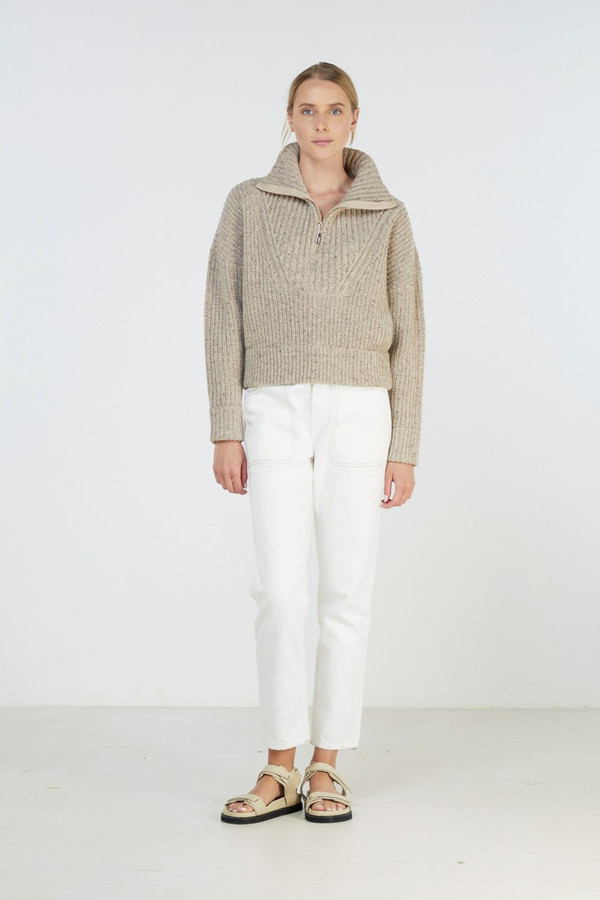 Elka Collective Covey Knit Oatmarle
