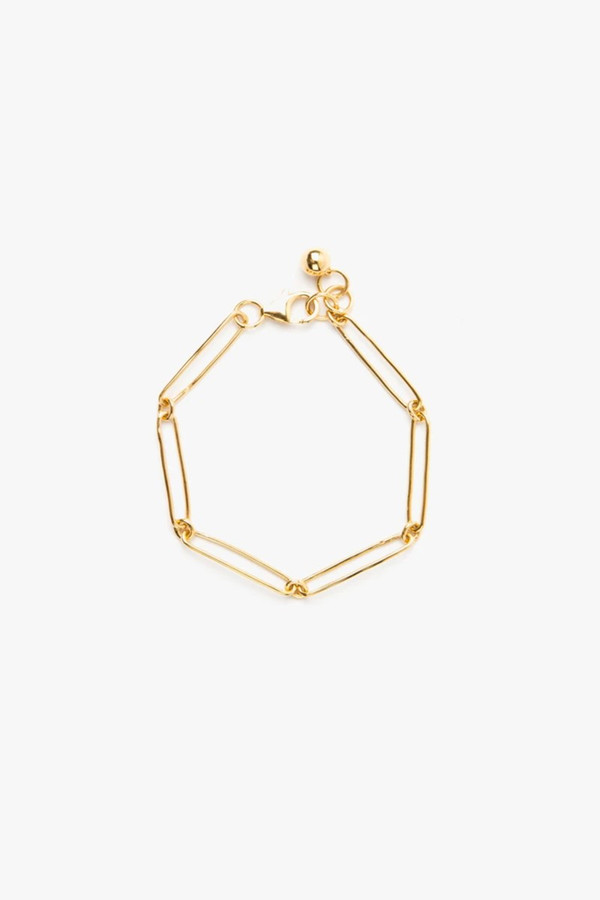 Elka Collective Flash Vermouth Chain Bracelet Gold
