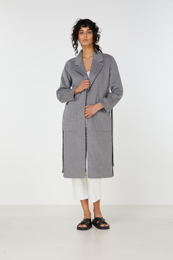 Elka Collective Elania Coat Grey