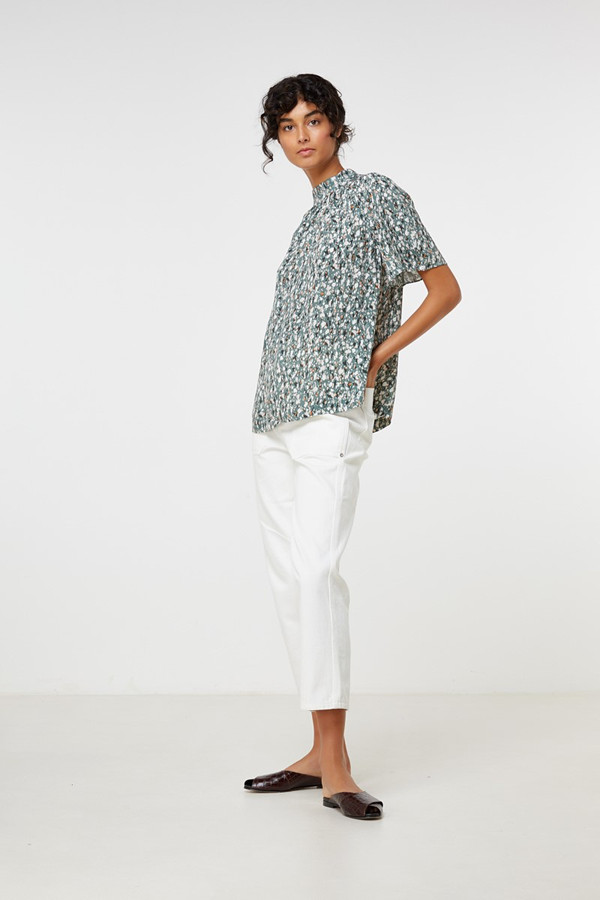 Elka Collective Perri Top Speckled Print