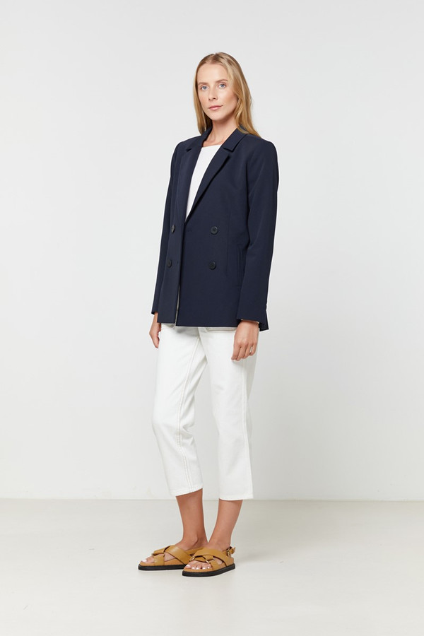 Elka Collective Ava Blazer Navy