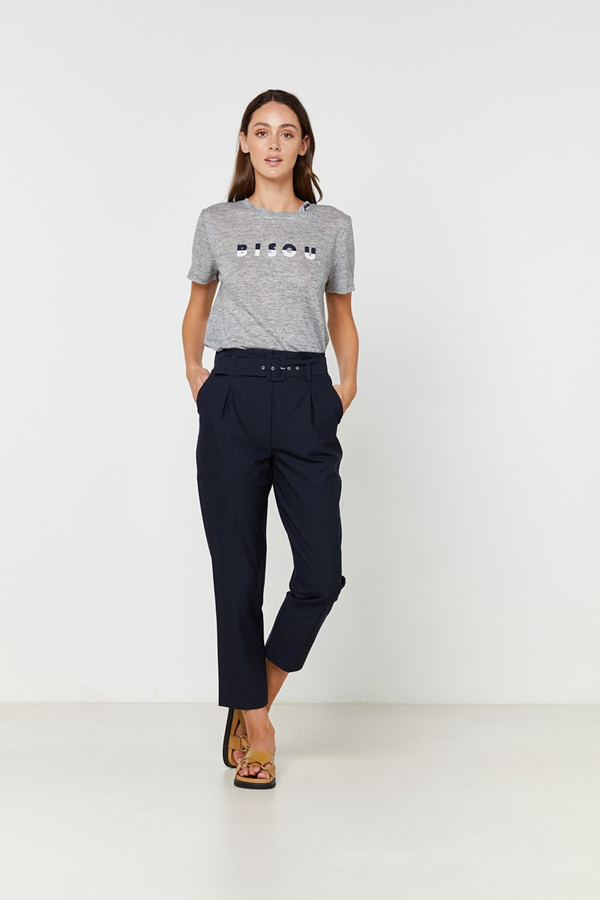 Elka Collective Bisou Tee Grey Marle