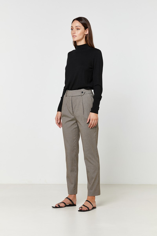 Elka Collective Henley Pant Small Check