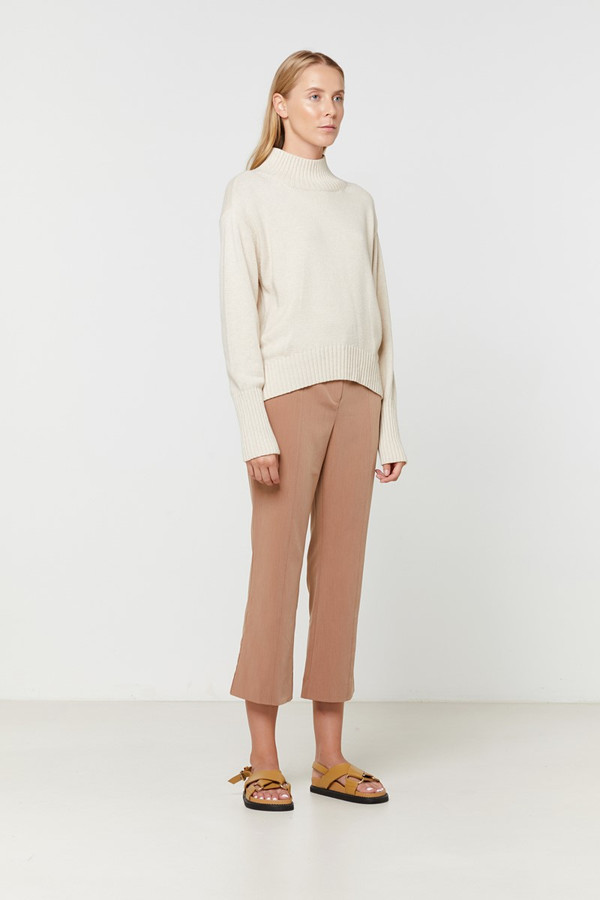 Elka Collective Alessia Knit Parchment