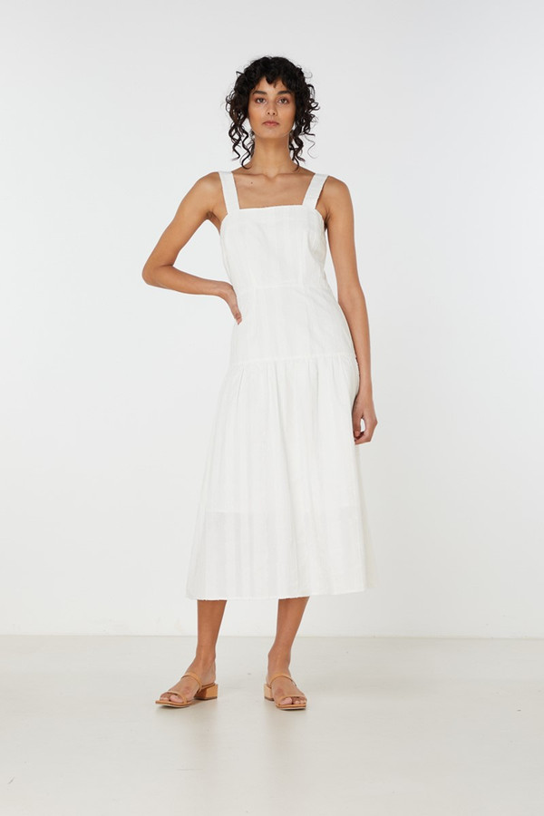 Elka Collective Eden Dress Ivory