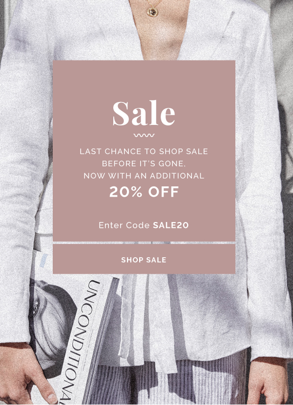 Shop A Further 20% Off Sale