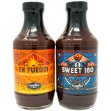 Sweet 180 and En Fuego BBQ Sauce Kit | Plowboys BBQ