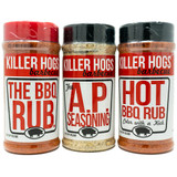 Killer Hogs BBQ Rub Tri Pack
