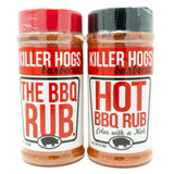 Killer Hogs Hot and BBQ Rub Combo