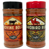 Yardbird and Bovine Bold BBQ Rub Combo | Plowboys BBQ