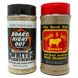 Pancho & Lefty The Steak Rub + Boars Night Out Combo