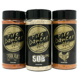 Fire Dancer BBQ Tri Pack Rubs