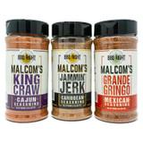 Malcom Reed Seasonings 3-Pack