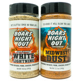 Boars Night Out Spicy Midwest Dust Steak Combo