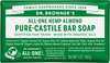 Dr Bronner's All-One Hemp Almond Pure-Castile Soap Bar