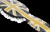 Rock & Ruddle Flag Hairbrush