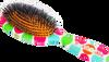 Rock & Ruddle Multicoloured Polka Dot Hairbrush