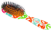 Rock & Ruddle Peace Sign Hairbrush