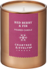 Crabtree & Evelyn Red Berry & Fir Christmas Candle - Mini - 67g